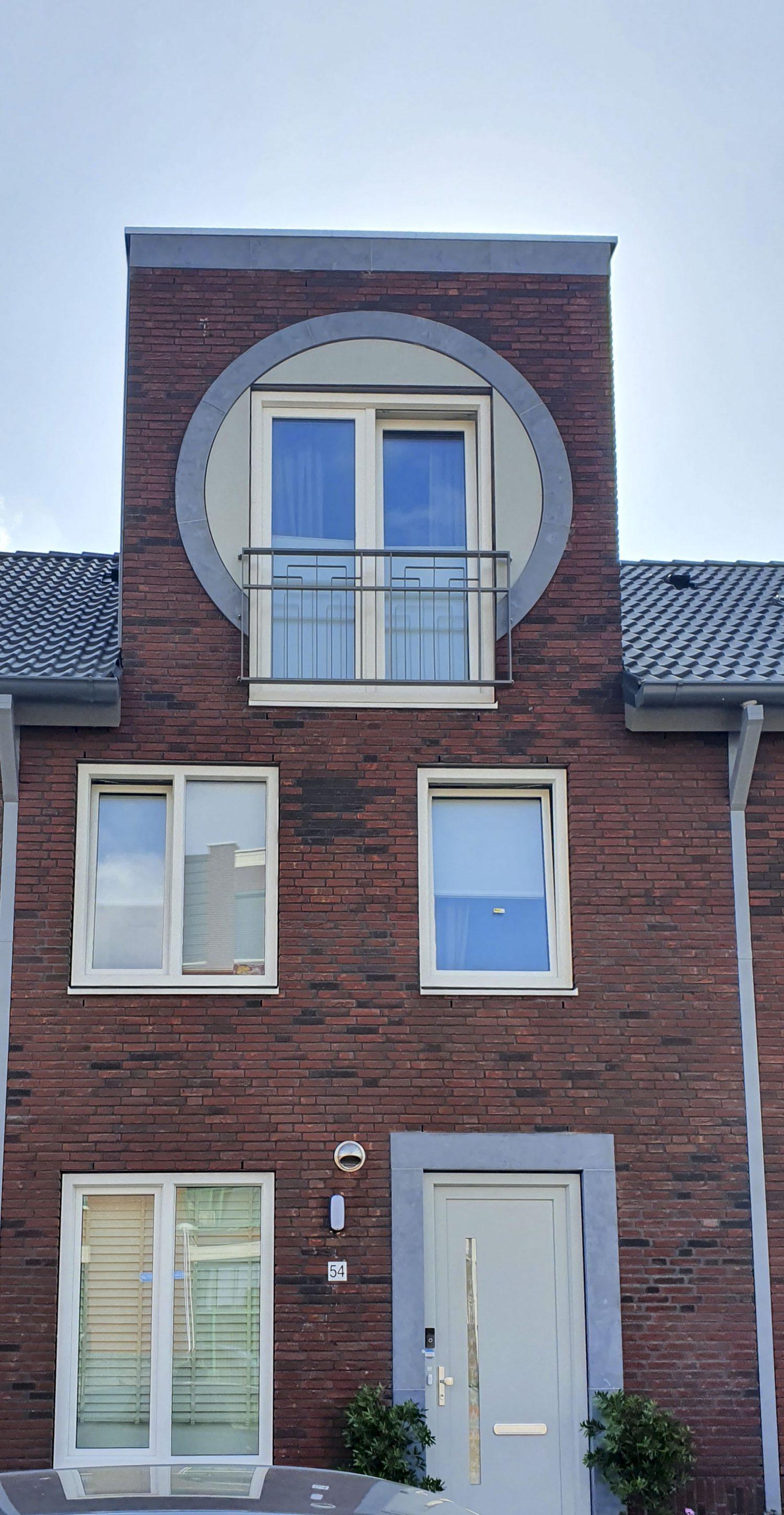 Frans balkon van het project Leeuwensteyn