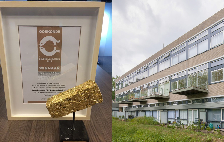 Capelse Blok wint Gouden IJsselsteen Publieksprijs