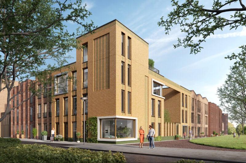 Start bouw Vogelhof