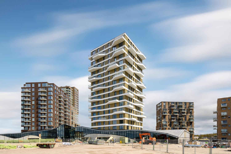 Skyline Almere Duin uitgebreid met Valencia