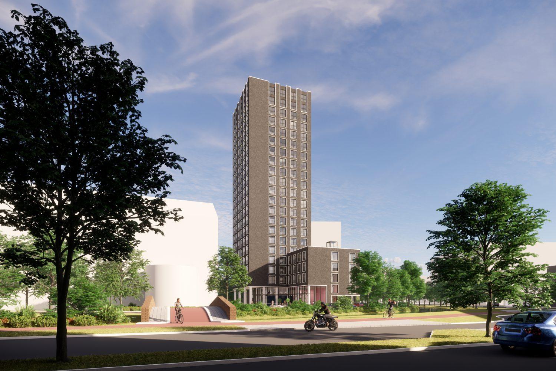 Start bouw Schilperoortpark in Leiden
